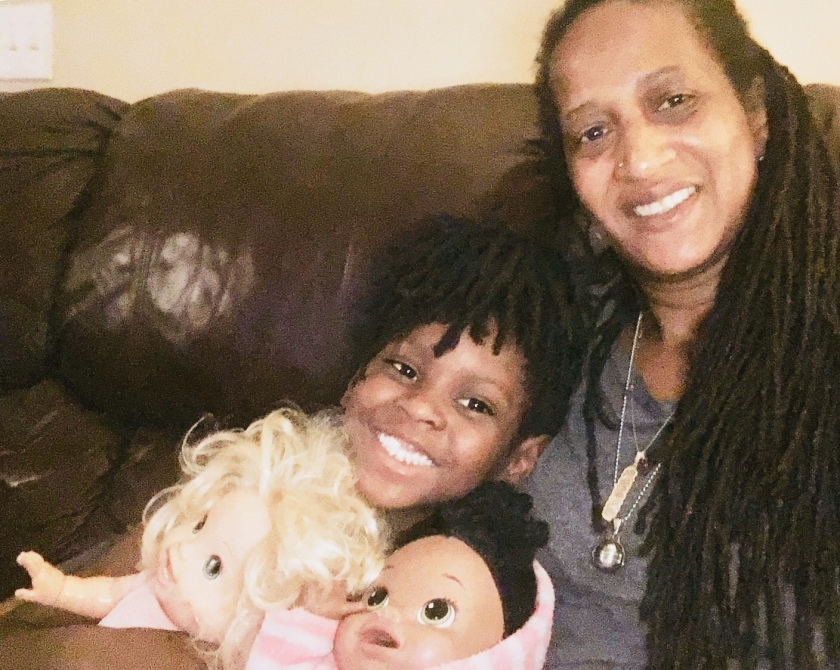 Me, Lil Miss, Molly & Polly (Baby Alive Twins)